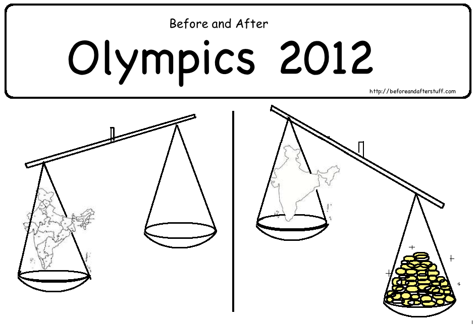 Before and After London Olympics 2012
