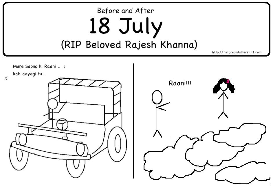 RIP beloved Rajesh Khanna