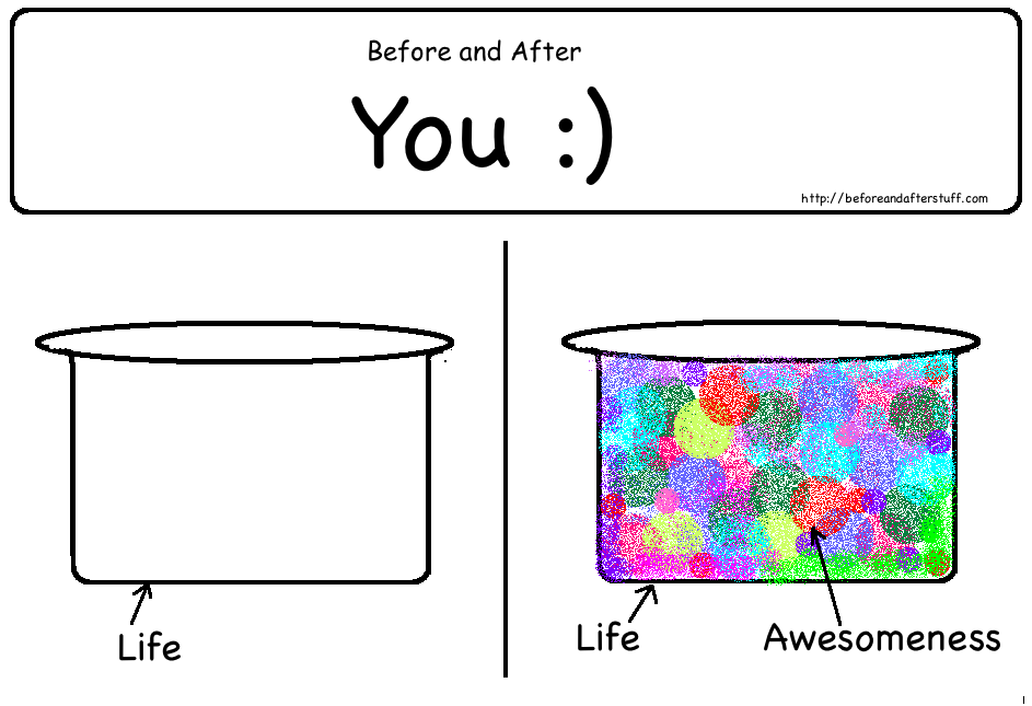 Before and After You :) - ( Anniversary Spl.)