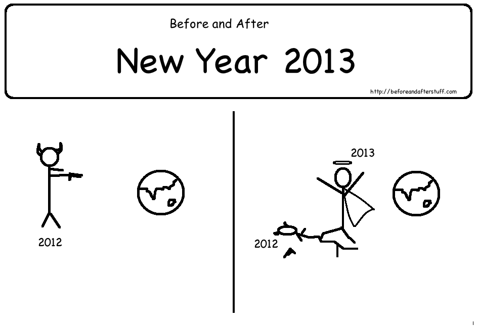 Before and After New Year 2012